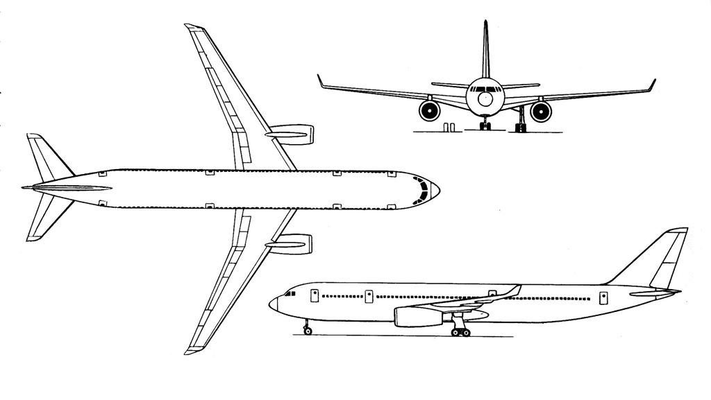 Ан-218 имел размах крыла 50 м,