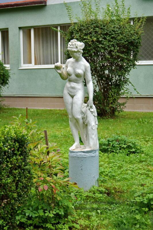 Скульптура Венеры. Светлогорск-Rauschen