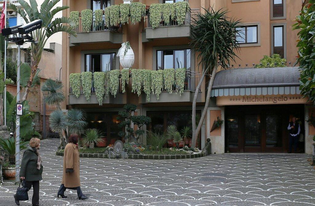 Сорренто. отель Микеланджело