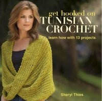 Журнал Get Hooked on Tunisian Crochet: Learn How with 13 Projects pdf 41Мб