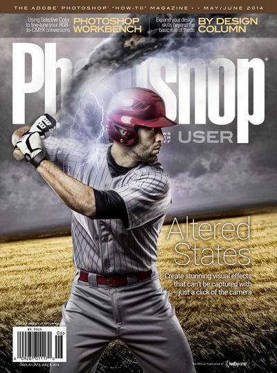 Книга Подшивка журналов: Photoshop User (апрель - июнь 2014) [PDF] [En]