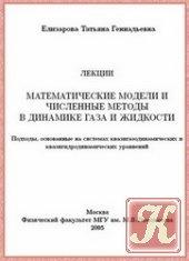 Книга Математические модели и численные методы в динамике жидкости и газа