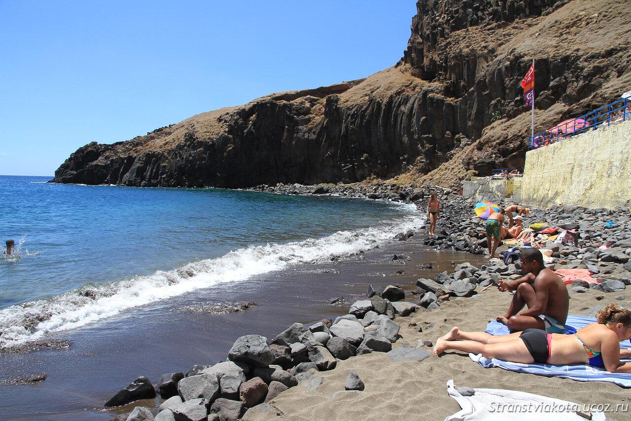 Мадейра, пляж Прания