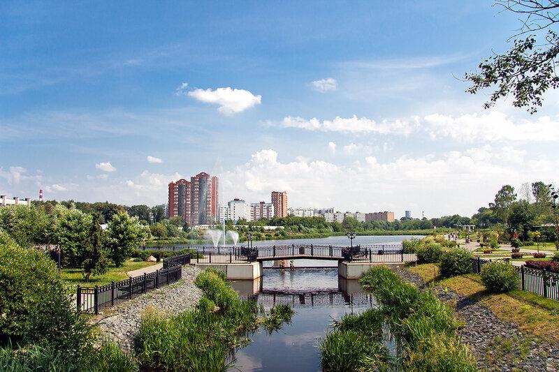 Мытищи, река Яуза.
