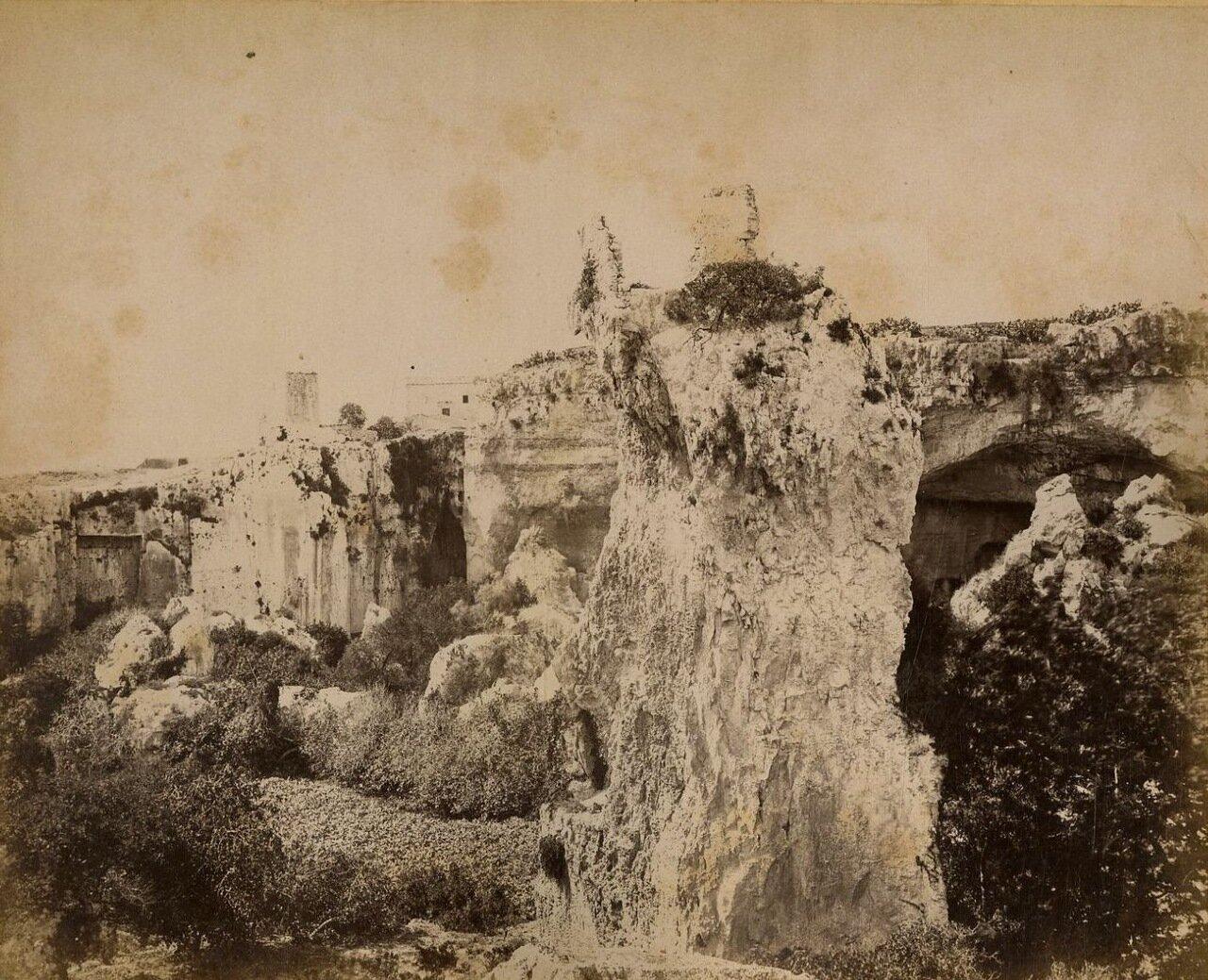 Сиракузы. Каменоломни Латомиа дель Парадизо