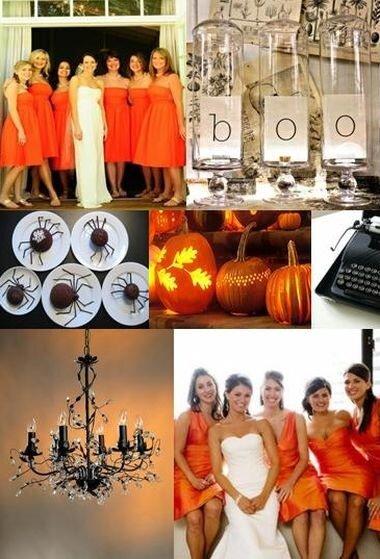Стилистика свадеб: Хеллоуин
