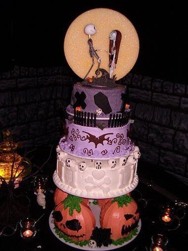 Свадебные торты: Halloween