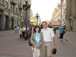 С сестрой Яной