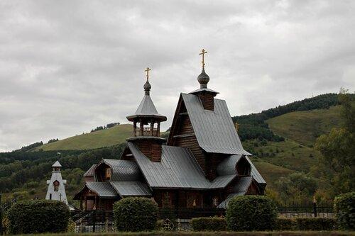Церковь в Горно-Алтайске