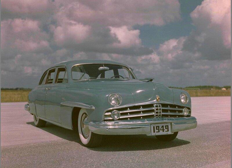 Автоэкзотика. Аэростиль (1948-1953). Часть 4