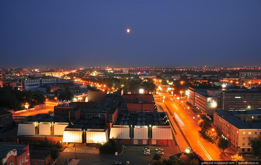 ночной город омск картинки заказ