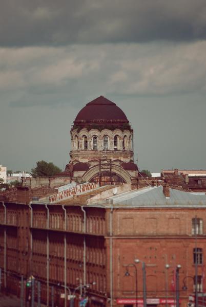 купол Церкви Милующей Божией Матери