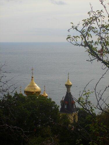 Крым,Алупка,православные святыни