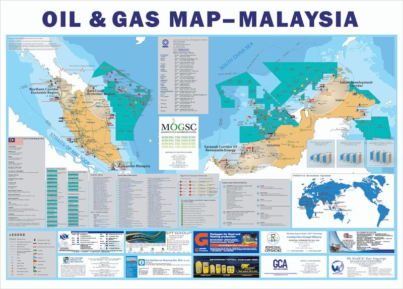 Detailed map(malaysia)
