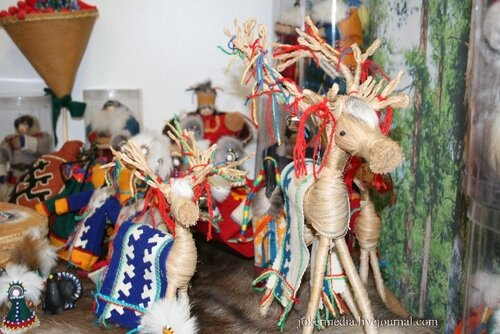 Макет дерева иХанты своими руками