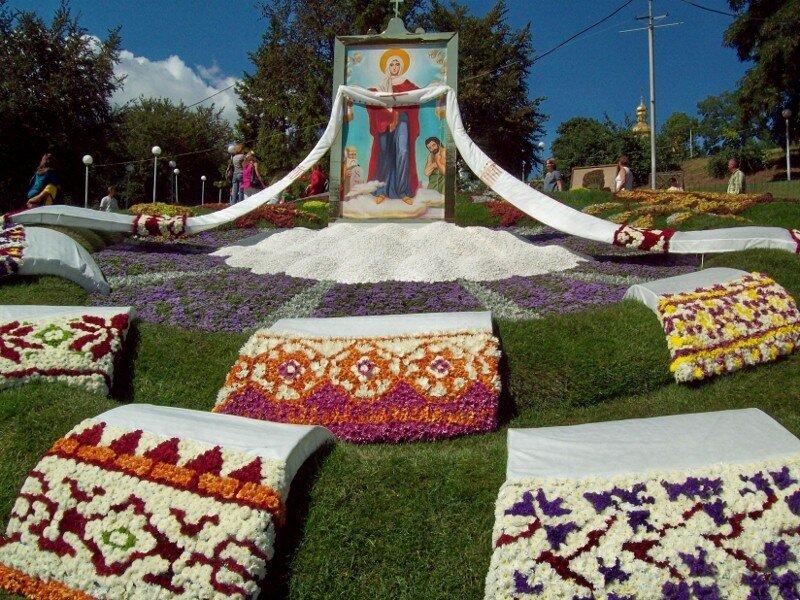 Выставка цветов к Дню Незалежности 2010 года