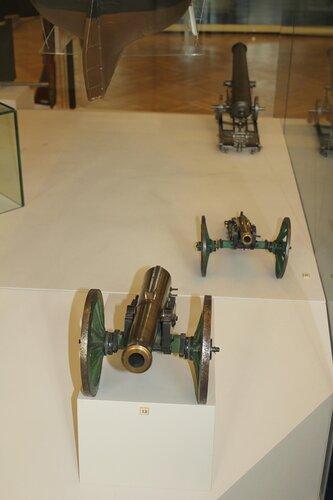 Модель осадного орудия образца 1838 г. (лафет образца 1839 г.)