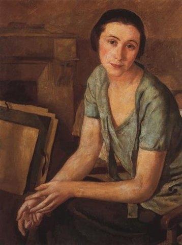 Саломея Андроникова-Гальперн, 1924 - Серебрякова.JPG