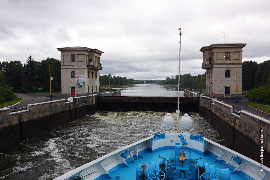 Шлюз №5 канала имени Москвы