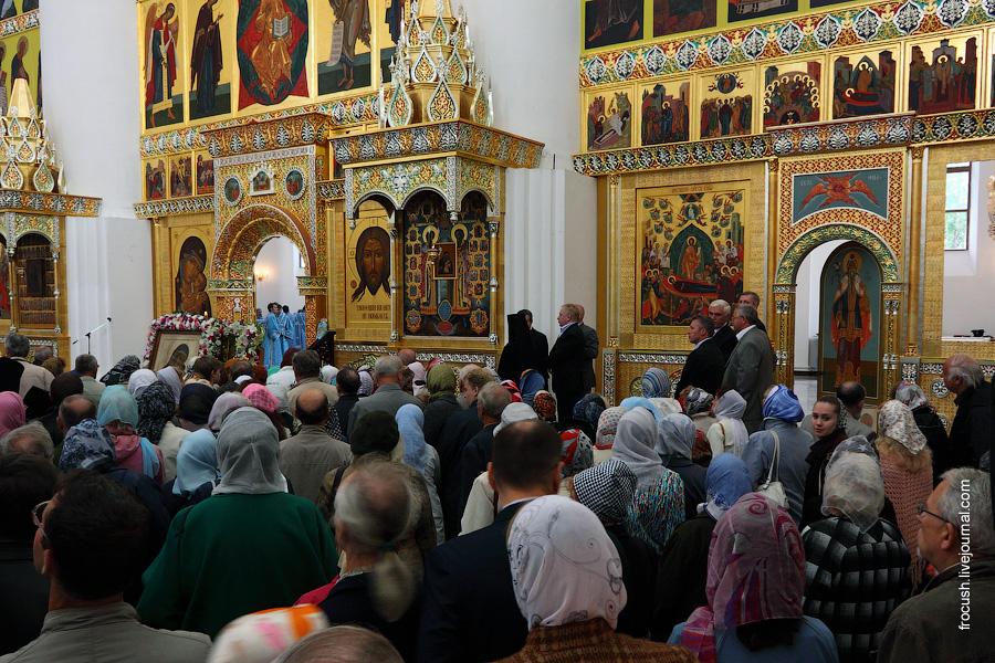 Праздник Успения Пресвятой Богородицы в Успенском соборе