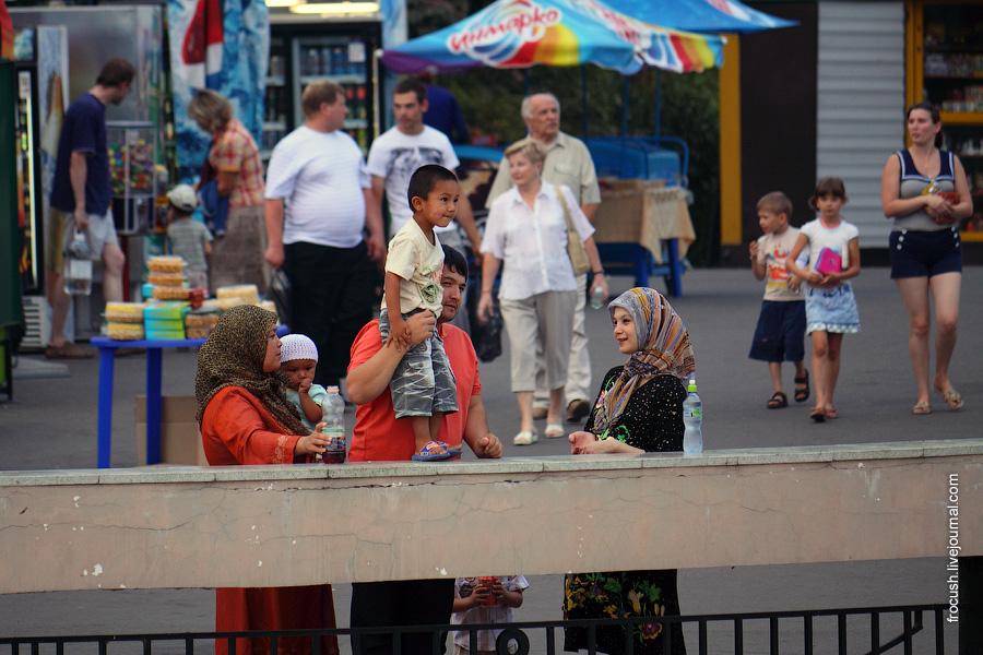 На речном вокзале Казани