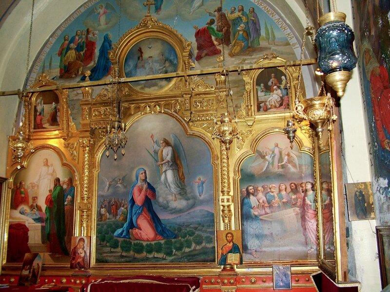 """Монастырь """"Малая Галилея"""" Viri Galileае (Мужи галилейские) Фото1      В часовне Смертного Благовещения"""
