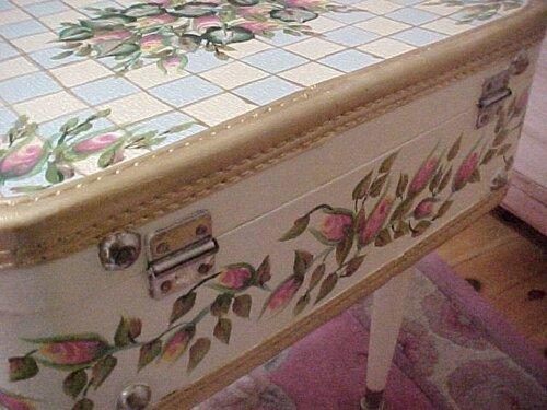Обновление старой мебели своими руками красками6