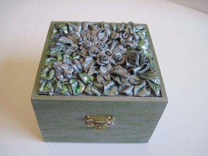 Декор из полимерной глины - шкатулки