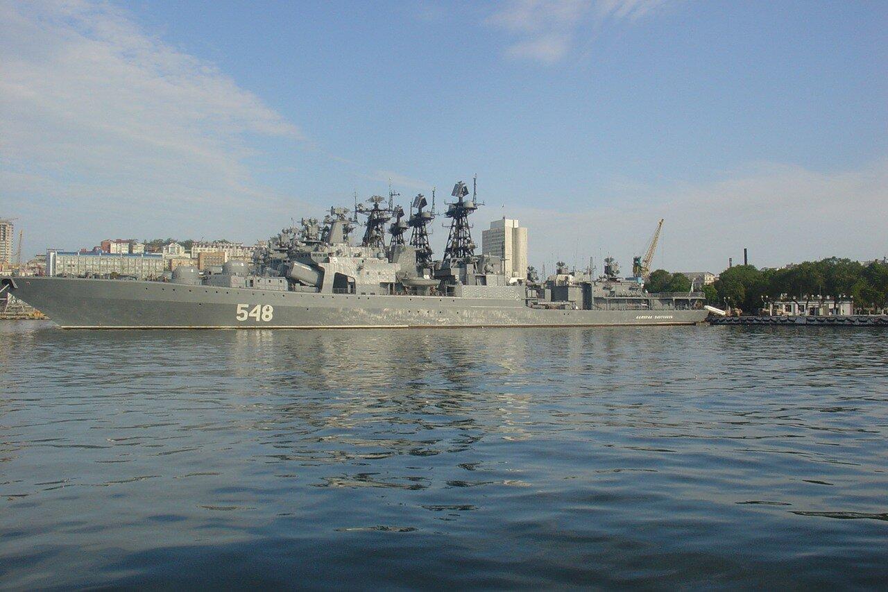 Владивосток. крейсер.