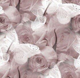 розы с бабочками(розы для тебя)