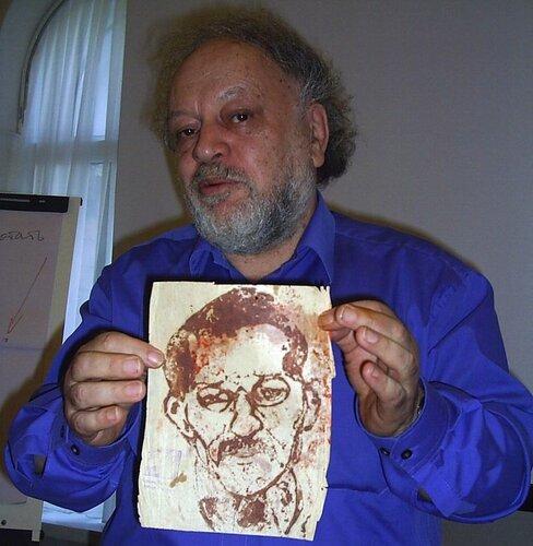 Александр Раппопорт нашёл автопортрет Сорокина