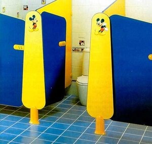 Кабинка детского туалета
