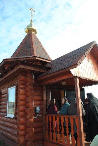 Архиепископ Тверской и Кашинский Виктор освятил часовню