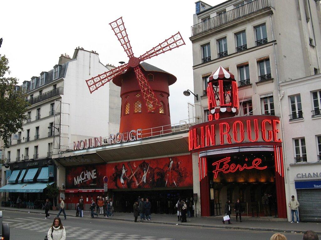 Кабаре 'Мулен Руж', Париж