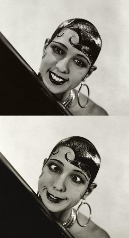 # Josephine Baker.Прическа