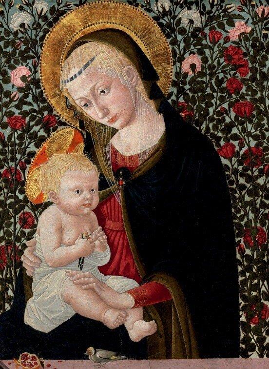 The Madonna and Child .Pseudo-Pier Francesco Fiorentino