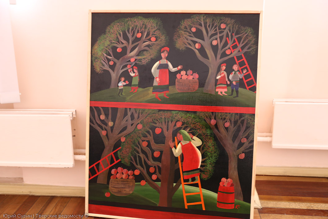 Тверские художники, выставка в Твери