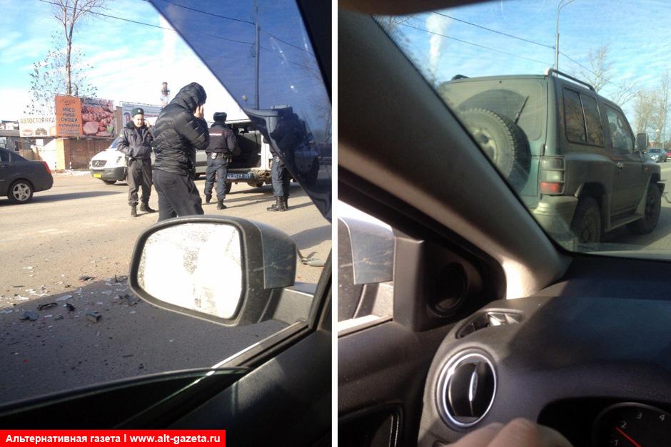 Очередное ДТП с участием автомобиля полиции
