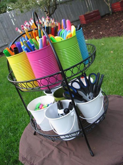 Полезные идеи! 20 простых и удобных способов хранить мелочи