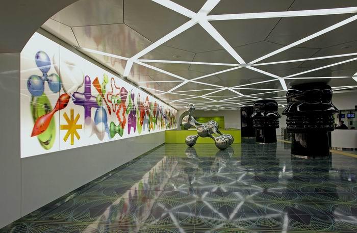 Галерея современного искусства в метро b50Неаполя. Проект «Stazioni dell'Arte». 30 фото