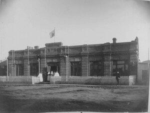Внешний вид здания, где размещался склад Сунгаринского района