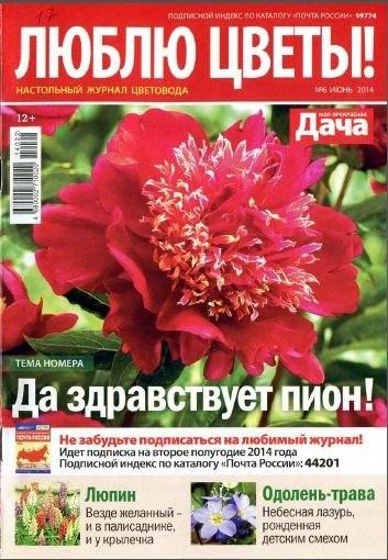 Книга Журнал: Люблю цветы! №6 (июнь 2014)