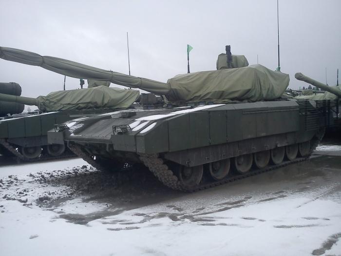 152-мм пушка для танка Т-14 Армата