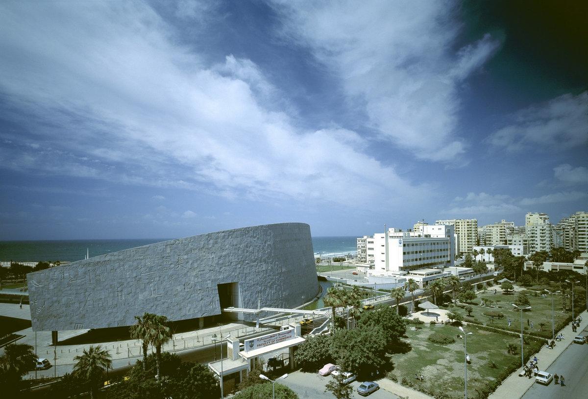 Snohetta, Библиотека Александрина, архитектура Египта, крупнейшие библиотеки мира, библиотека в Александрии, красивая библиотека, лучшие библиотеки