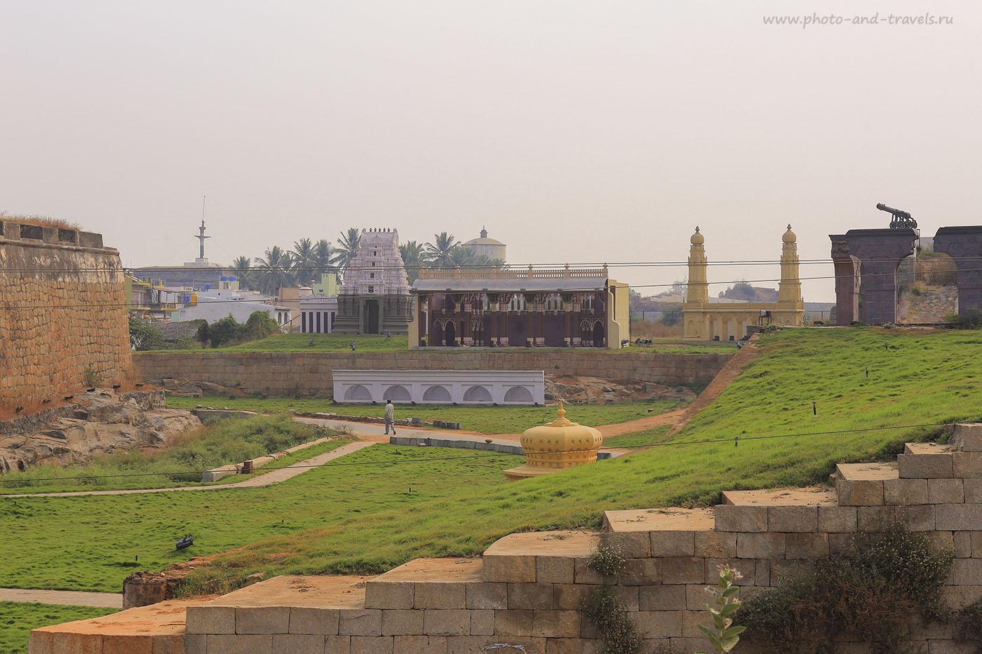 Фотография 2. Панорама руин старого города. Отзывы об экскурсиях в Индии в штате Карнатака. 1/200, -1 EV, 9.0, 100, 67.