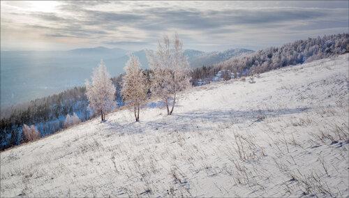 Особенности фотосъемки зимних пейзажей.