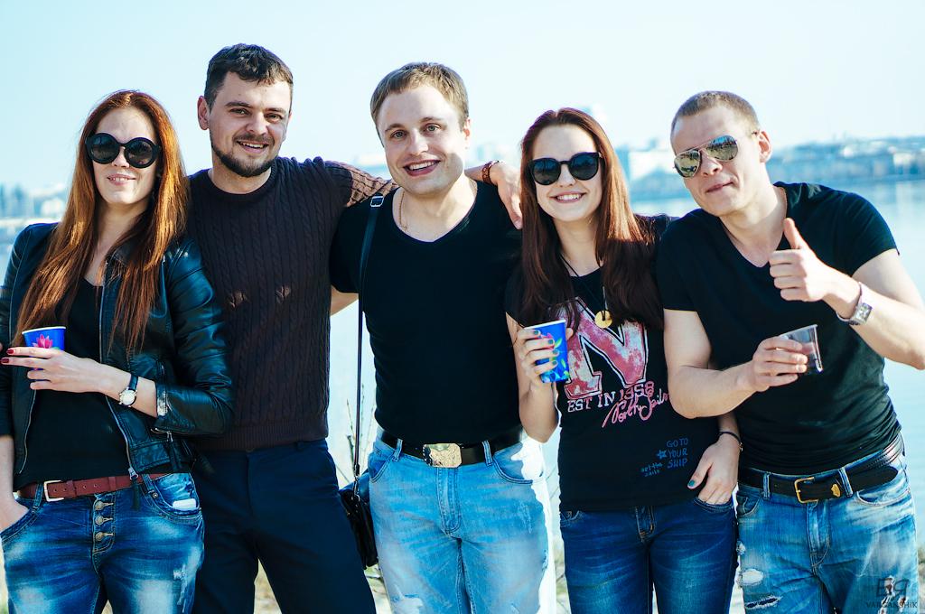 Варганчик и компания на пляже
