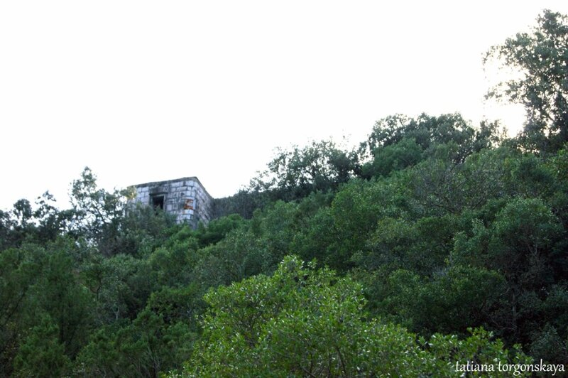 Вид на крепость снизу
