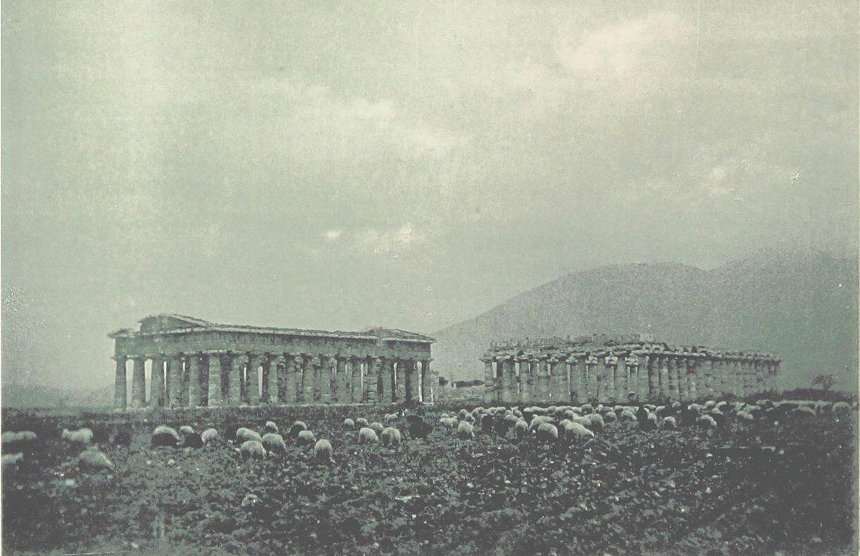Храм Геры-II и базилика (храм Геры-I)