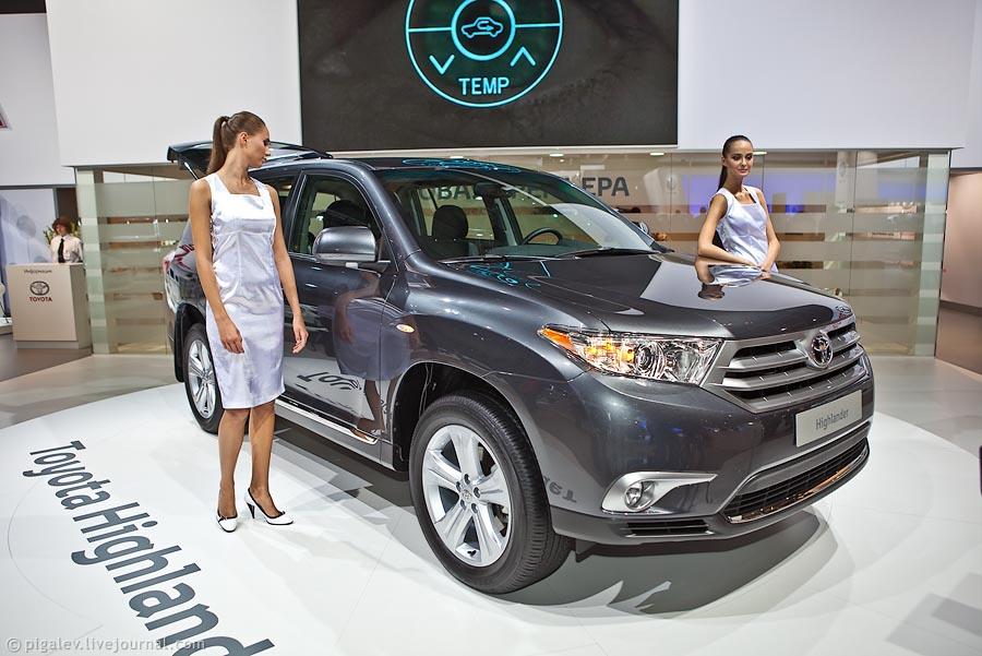 Toyota Highlander Club - Интрига в первый день выставки для прессы ))